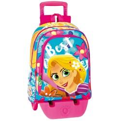 Rolling Backpack Princess Rapunzel 43 CM Trolley