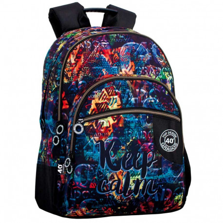 43 CM - 3 Cpt Rock backpack