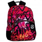 43 CM - 3 Cpt Girl backpack