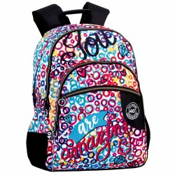 Backpack Amazing 43 CM - 3 Cpt