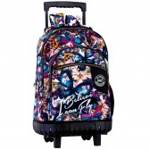Backpack skateboard Dahlia 46 CM trolley premium - Binder