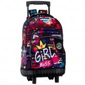 Backpack skateboard Believe 46 CM trolley premium - Binder