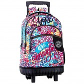 Backpack skateboard Hearts 46 CM trolley premium - Binder
