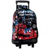 Backpack on wheels Keep Calm 46 CM trolley premium - Binder