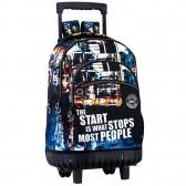 Backpack skateboard Music 46 CM trolley premium - Binder
