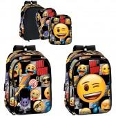 Sac à dos Emoji 43 CM Sticker Haut de Gamme - 2 Faces