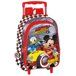 Rolling Native Backpack Mickey and Donald Drivers 37 CM Trolley