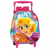 Princess Rapunzel 28 CM rolling bag kindergarten upscale - Binder