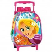 Prinses Rapunzel 28 CM rollende tas kleuterschool upscale - Binder