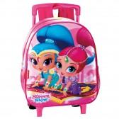 Prinses Rapunzel 28 CM rollende tas kleuterschool beste upscale - Binder