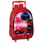 Sac à dos à roulettes maternelle Ladybug Secret 37 CM trolley - Cartable