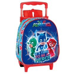 Rolling Maternal Backpack PJ Masks 28 CM Premium Trolley