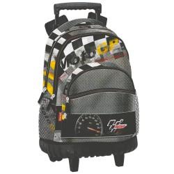 Sac à dos à roulettes Moto GP Warm 46 CM trolley Haut de Gamme - Cartable