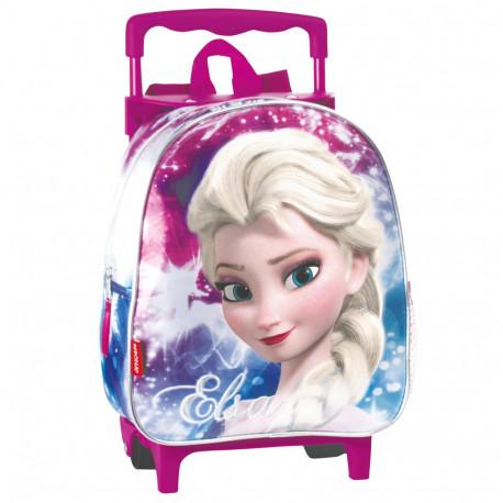 Sac à roulettes Frozen La reine des neiges Shinning 28 CM maternelle