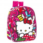 Sac à dos maternelle Hello Kitty Sweetness 28 CM