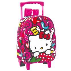 Rolling  Backpack nursery Hello Kitty Sweetness 28 CM - Trolley