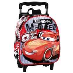 Mochila con ruedas nativo Cars Disney Fast 28 CM - Trolley escolar