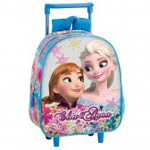 Frozen the native Queen of the snows Shinning 28 CM rolling bag