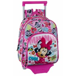 Rolling Backpack Minnie Cool 34 CM Maternal Premium Trolley