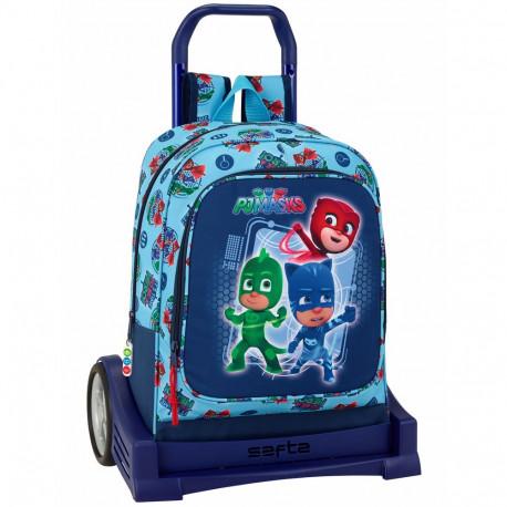 Rolling bag Ladybug and Evolution 43 CM high-end - school trolley bag black cat