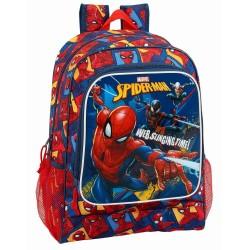 Sac à dos Spiderman Action 42 CM Haut de Gamme - Cartable