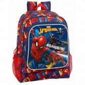 Ultimate Spiderman-42 CM oben auf der Range + Kit - Tasche Rucksack