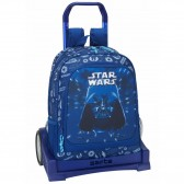 Sac à roulettes Star Wars Saga Evolution 43 CM Haut de Gamme - Cartable trolley