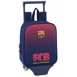 Mochila con ruedas FC Barcelona nación 28 CM - Trolley escolar