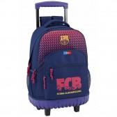 Sac à dos à roulettes FC Barcelone Nation 45 CM trolley Haut de Gamme - Cartable FCB