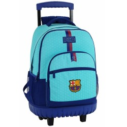 Rolling Backpack FC Barcelona Blue Sea 45 CM Premium Trolley FCB