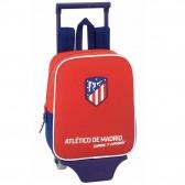 Sac à roulettes Atlético de Madrid Coraje 28 CM maternelle Haut de Gamme - Cartable