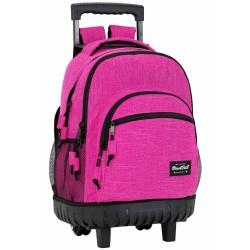 Mochila con ruedas Blackfit Rosa 45 CM - Trolley escolar