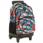 Backpack with wheels New Mandala 45 cm high-end - 3 cpt - Binder