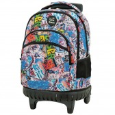 Backpack on wheels California Cebra 45 cm high-end - 3 cpt - Binder