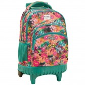 Backpack on wheels Santa Monica Street 45 cm high-end - 3 cpt - Binder