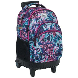 Rolling Backpack Waka 45 cm high-end - 3 cpt - Trolley