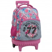 Mochila patineta 45 CM primavera sonriente High-End - 2 cpt - Binder