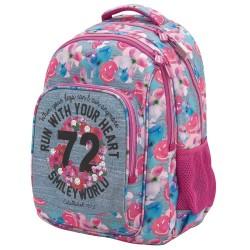 Smiley 72 Premium 45 CM Backpack - 2 Cpt