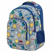 Smiley 72 45 CM - 2 Cpt Premium backpack