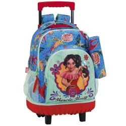 Rolling Backpack Elena of Avalor 45 CM Premium Trolley - Kit