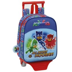 Rolling Backpack PJ Masks 28 CM Premium - Trolley