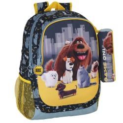 Backpack The secret life of pets 44 CM + Kit