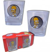 Set de 2 verres Homer Simpson