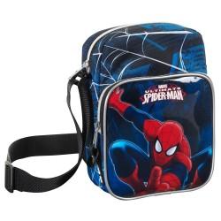 Tas Ultimate Spiderman-22 CM blauw
