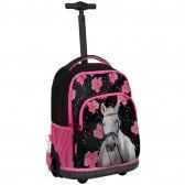 Backpack skateboard horse Flower 44 CM trolley premium - Binder