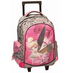 Rolling Backpack Tinkerbell Pink 45 CM Premium - Trolley
