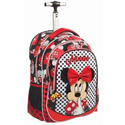 Rolling Backpack Couture Minnie 48 CM Premium - Trolley