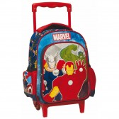 Sac à roulettes trolley maternelle Avengers Team 31 CM - Cartable