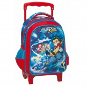 Sac à roulettes trolley maternelle Beyblade Burst 31 CM - Cartable