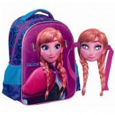 Natural de la nieve Reina Elsa 31 CM - mochila mochila